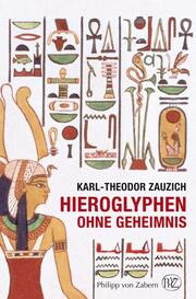 Hieroglyphen ohne Geheimnis