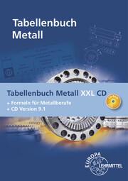 Tabellenbuch Metall XXL CD