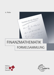Finanzmathematik - Formelsammlung