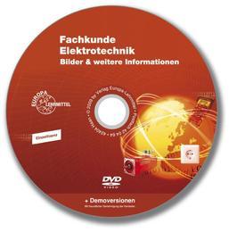 Fachkunde Elektrotechnik, Bilder & weitere Informationen, CD-ROM für Windows