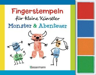 Fingerstempeln für kleine Künstler