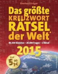Das größte KreuzwortRätsel der Welt 2015