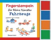 Fingerstempeln für kleine Künstler-Set - Fahrzeuge