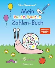 Mein kunterbuntes Zahlen-Buch - Spielerisch die Zahlen von 1 bis 20 lernen. - Cover