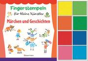 Fingerstempeln für kleine Künstler-Set: Märchen und Geschichten