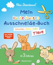 Mein kunterbuntes Ausschneidebuch - Tiere