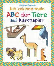 Ich zeichne mein ABC der Tiere auf Karopapier