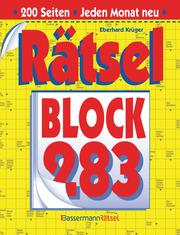 Rätselblock 283 - Cover