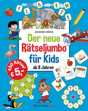 Der neue Rätseljumbo für Kids - Cover