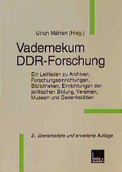 Vademekum DDR-Forschung