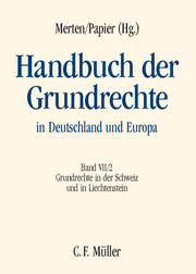 Handbuch der Grundrechte in Deutschland und Europa VII