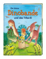 Die kleine Dinobande und das T-Rex-Ei