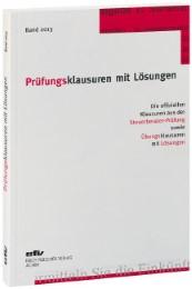 Prüfungsklausuren mit Lösungen 2013