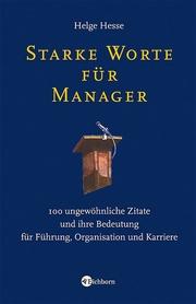 Starke Worte für Manager