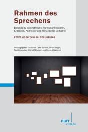 Rahmen des Sprechens