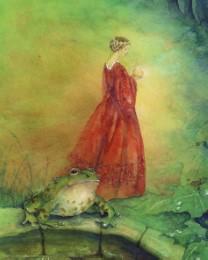 Poster 'Der Froschkönig'
