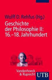 Geschichte der Philosophie II