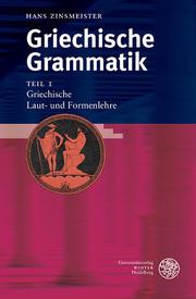 Griechische Grammatik 1