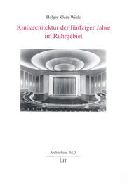 Kinoarchitektur der fünfziger Jahre im Ruhrgebiet