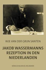 Jakob Wassermanns Rezeption in den Niederlanden