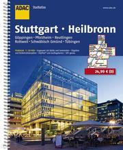 ADAC Stadtatlas Stuttgart, Heilbronn 1:20 000 Göppingen, Pforzheim, Reutlingen