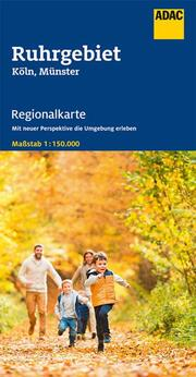 ADAC Regionalkarte Blatt 7 Ruhrgebiet 1:150 000