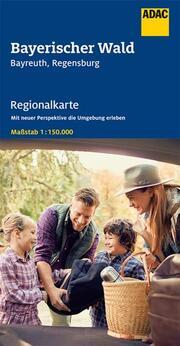 ADAC Regionalkarte Blatt 13 Bayerischer Wald 1:150 000