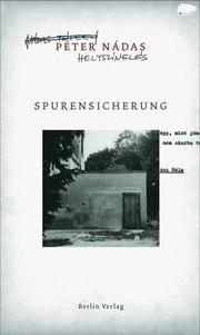 Spurensicherung - Cover