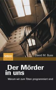 Der Mörder in uns - Cover