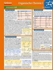 Lerntafel: Organische Chemie I im Überblick
