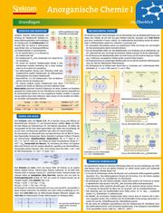 Lerntafel: Anorganische Chemie I im Überblick