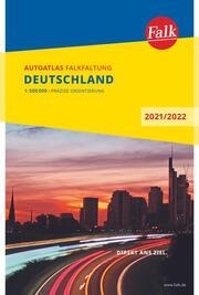 Falk Autoatlas Falkfaltung Deutschland 2021/2022 1:500 000