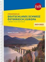Falk Straßenatlas Deutschland, Schweiz, Österreich, Europa 2021/2022 1:300 000