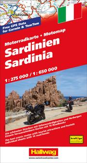 Sardinien MotoMap Motorradkarte 1:275 000/1:650 000