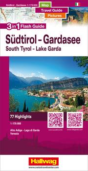 Südtirol-Gardasee-Venedig Flash Guide Strassenkarte 1:175 000