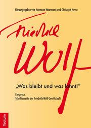 Einspruch.Schriftenreihe der Friedrich-Wolf-Gesellschaft