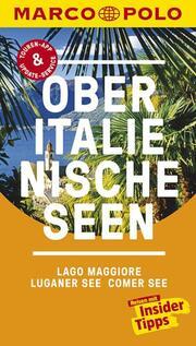 Oberitalienische Seen, Lago Maggiore, Luganer See, Comer See - Cover