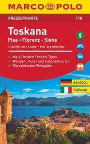 MARCO POLO Freizeitkarte Toskana 1:125 000