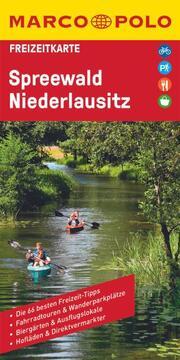 MARCO POLO Freizeitkarte Spreewald, Niederlausitz 1:110 000
