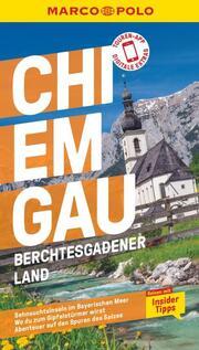 MARCO POLO Reiseführer Chiemgau, Berchtesgadener Land - Cover