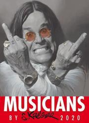 Musicians by S. Krüger Wandkalender 2020