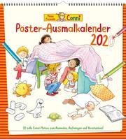 Meine Freundin Conni Poster-Ausmalkalender 2020