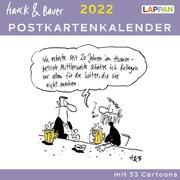 Hauck & Bauer Postkartenkalender 2022