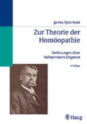 Zur Theorie der Homöopathie