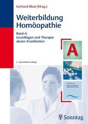Weiterbildung Homöopathie A