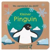 Wo versteckst du dich? Kleiner Pinguin