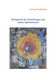 Metaphysik der Einrichtungen und andere Spekulationen