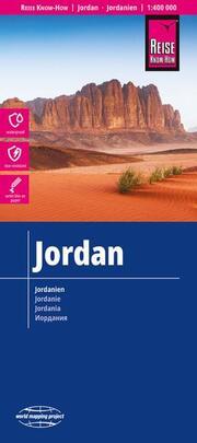 Landkarte Jordanien/Jordan (1:400.000)