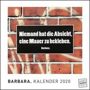 BARBARA. 2020 - Cover