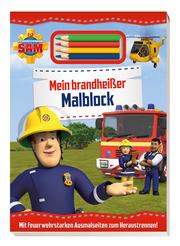 Feuerwehrmann Sam: Mein brandheißer Malblock